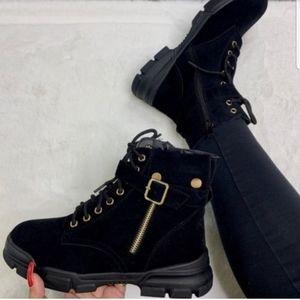Forever Combat Booties/Sneakers